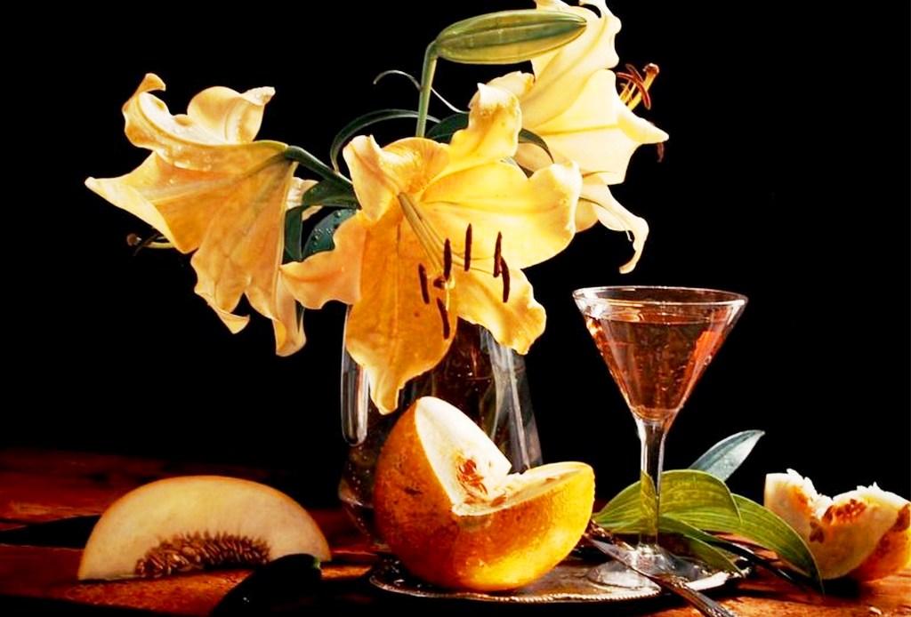 con frutas al oleo pinturas flores al óleo sobre lienzo flores