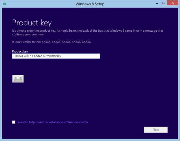 Product key windows 8 pro 64 bit for Window 64 bit