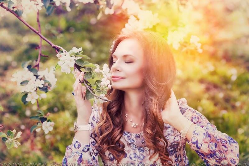 аромат цветущих яблонь