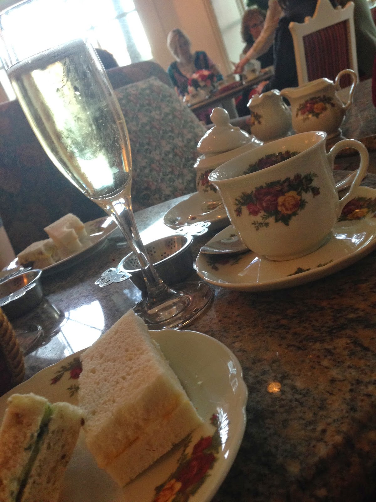 Grand Floridian - Garden View Tea Room | Coconuts for Disney