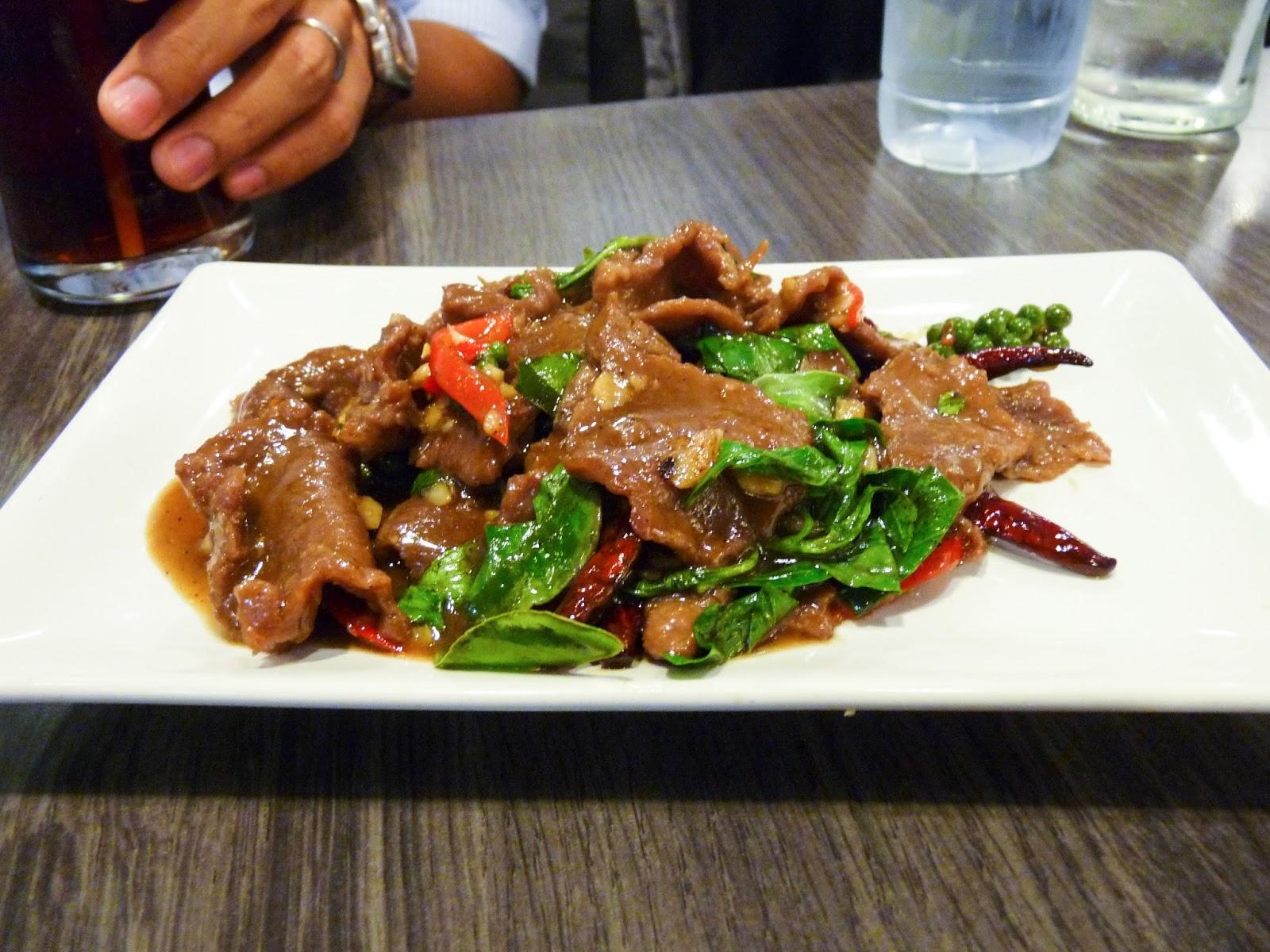 Thai Beef Fry