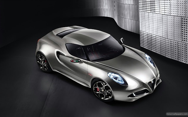 2013 Alfa Romeo 4c Concept Wallpapers
