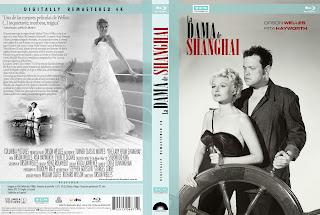 Carátula dvd La Dama de Shanghai
