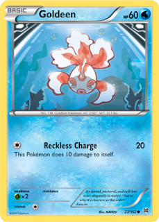 Goldeen BREAKthrough Pokemon Card