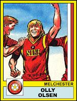 Ollie Olsen - Melchester Rovers