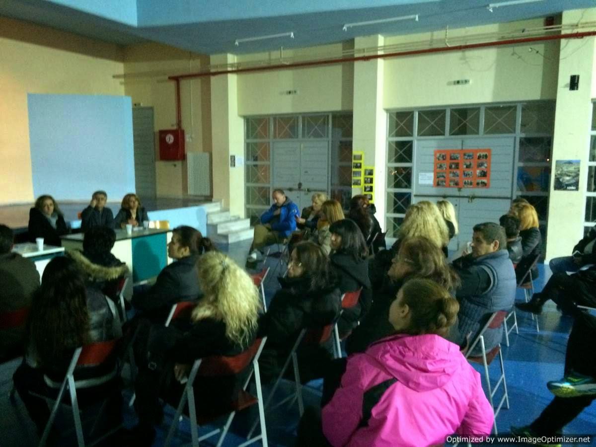 Με μεγάλη συμμετοχή πραγματοποιήθηκε η Γενική Συνέλευση Γονέων του 1ου Γυμνασίου Αγ.Βαρβάρας