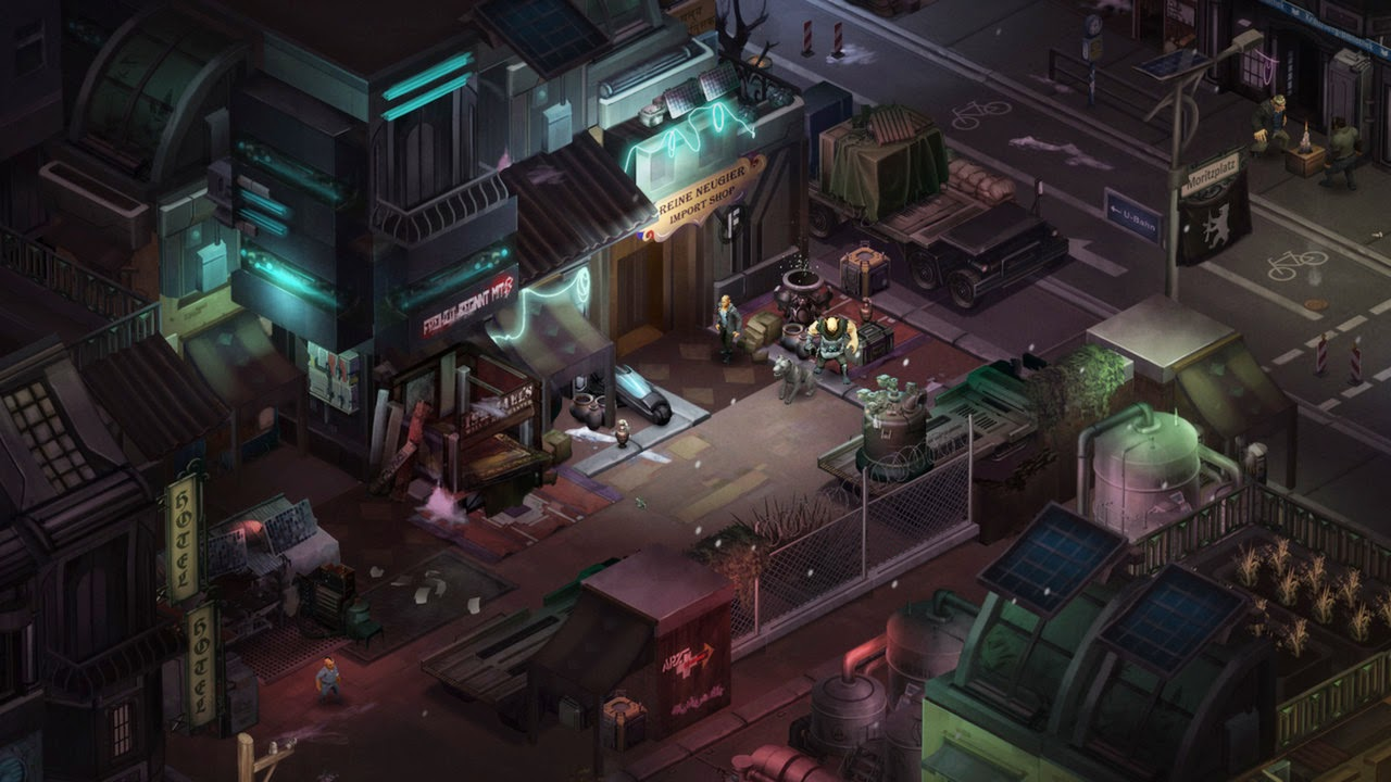 Shadowrun Dragonfall – Director's Cut screenshots