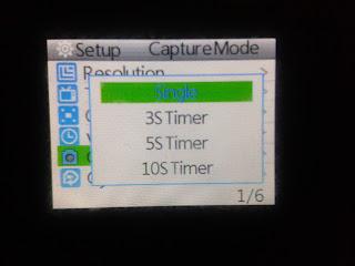 Capture Mode Setup