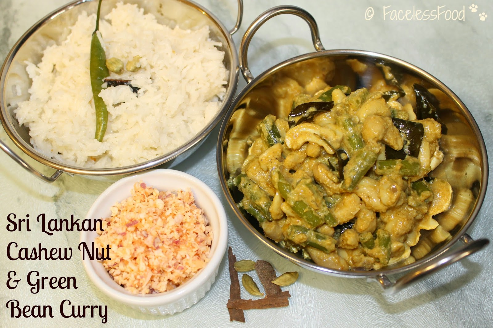 ... review, plus a recipe for Sri Lankan Cashew Nut & Green Bean Curry