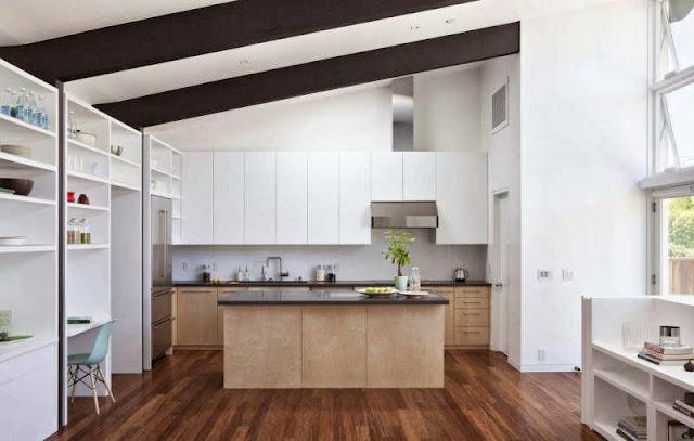 kitchen-set-decoration-Net-Zero-Energy-Modern-House