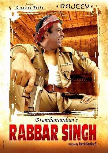 Telugu Comedy King Brahmanandam as Rabbar Singh - Creative Works