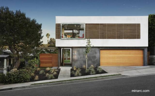 Casa residencial contemporánea en Santa Mónica, California