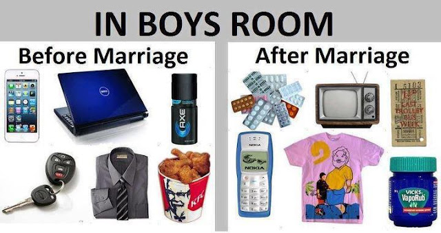 Boys Room, Before and After Marriage (Freedom Vs Limitation)