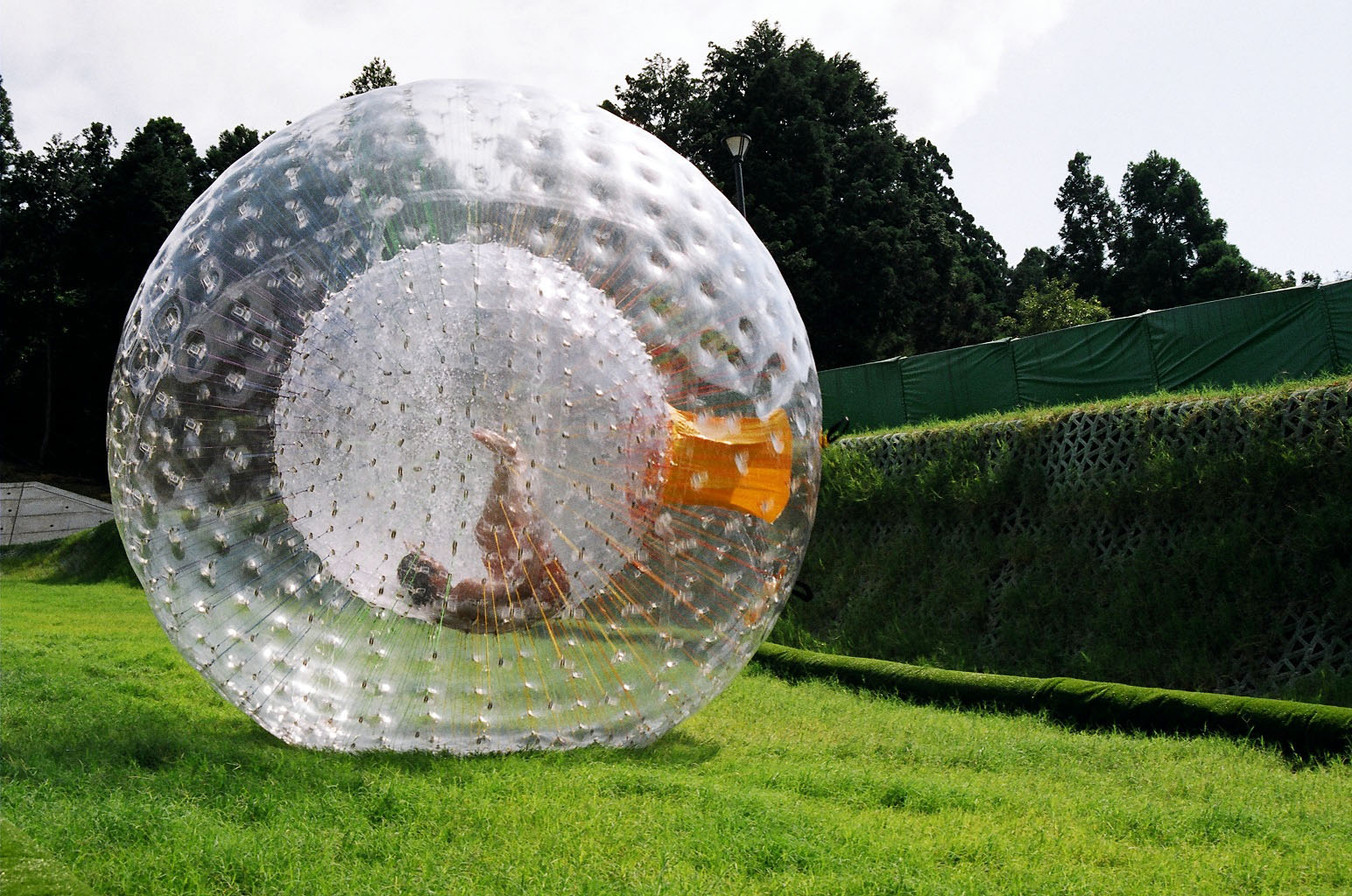 Urban Jungle (Gym): Zorbing, Sphering, Orbing, Globe-riding.