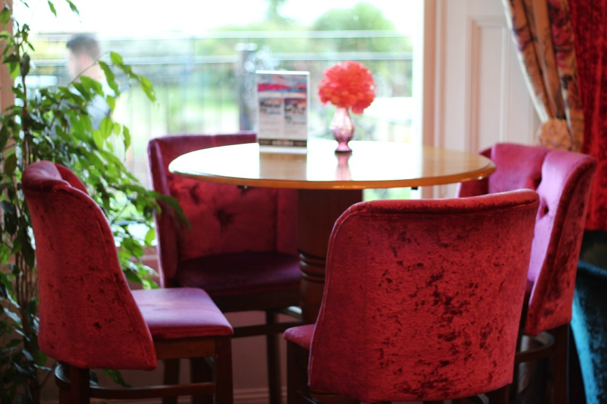pink velvet bar stools, Cottonwood Boutique Hotel Bournemouth