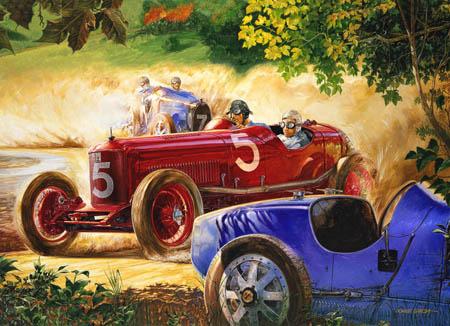 Alfieri Maserati, Targa Florio 1926 in his Maserati 26-