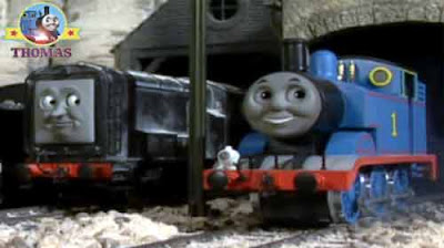 Diesel had to admit that tank Thomas the engine is a very special ghost train even if a Sodor steamy