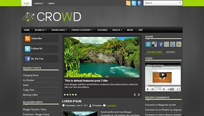 Crowd Blogger Templates