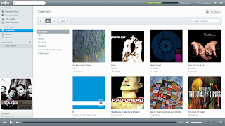 rdio screenshot - collection