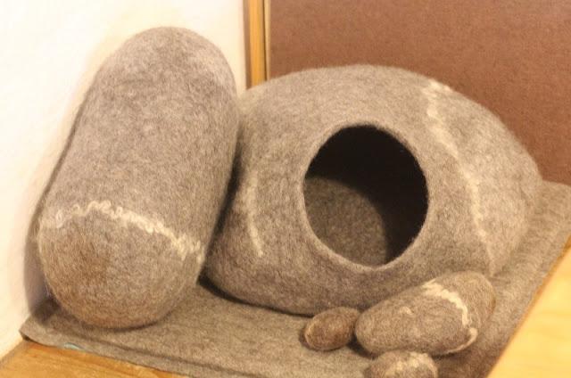 katzenhöhle filzen