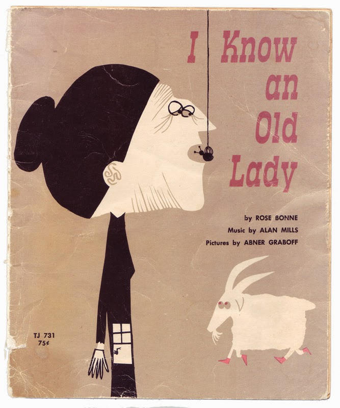 I Know an old Lady 1960s childrens book