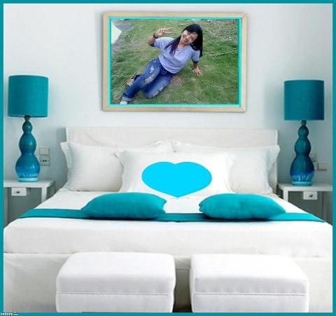 chritayun mengatur posisi tempat tidur