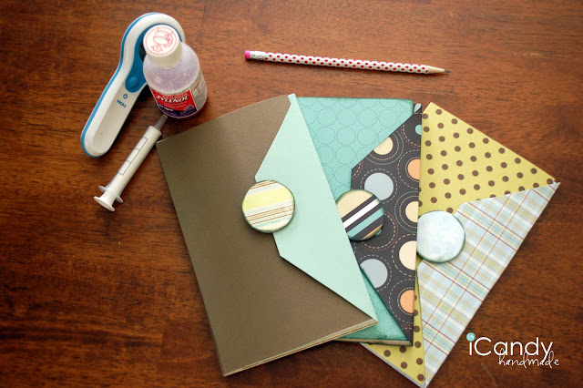 How to make this Super Cute and Easy Legal Pad Cover! Tutorial on { lilluna.com }