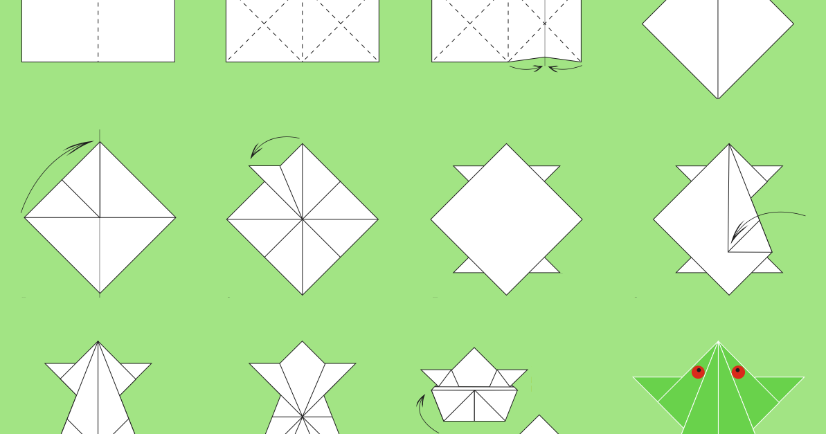 origami paper folding step by step ~ origami instructions art and ...