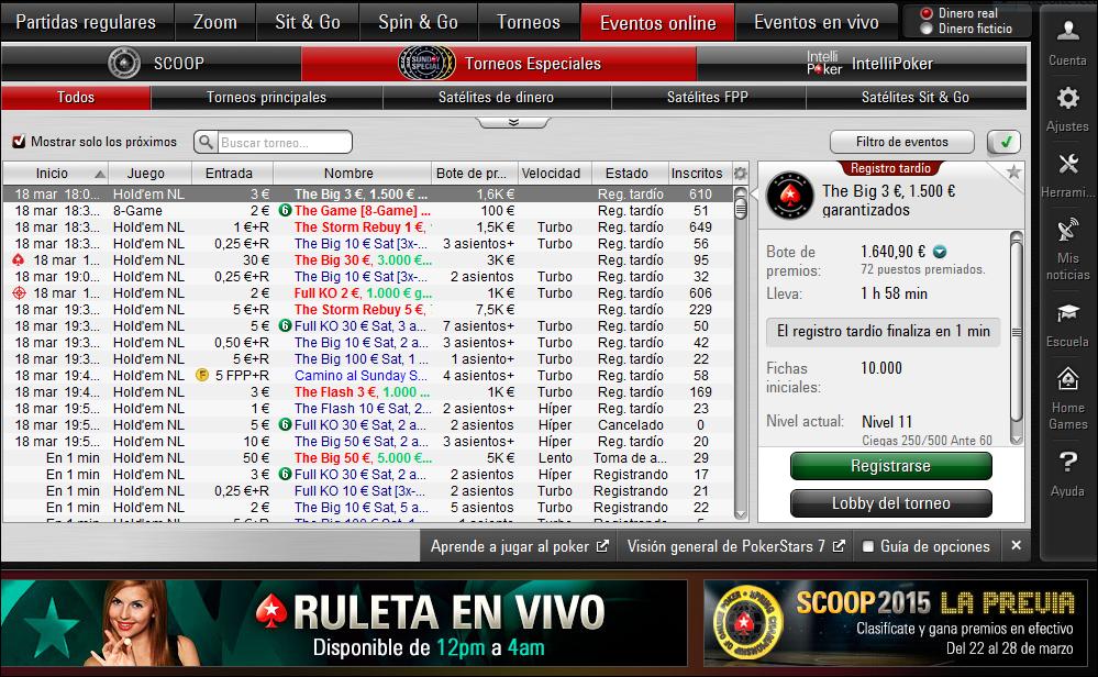 Jugar poker en linea dinero real