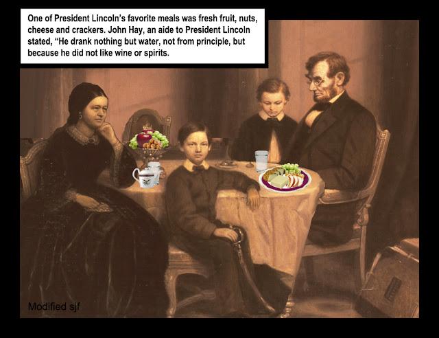 President Lincoln S Favorite Foods
