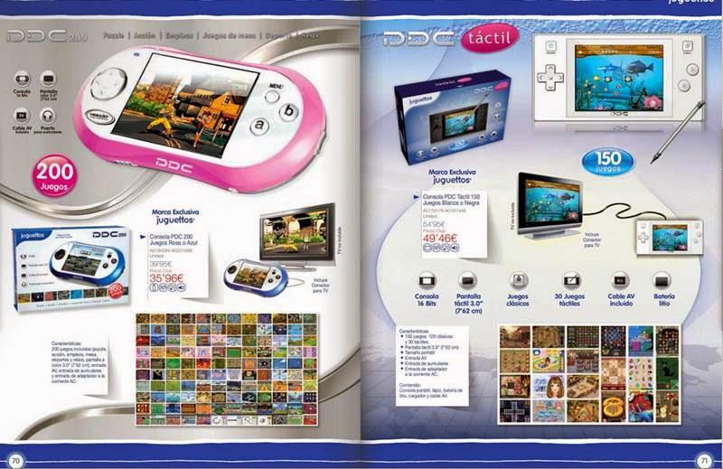 consola PDC de juguete 2014-15