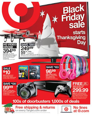 Target Black Friday Circular 2015