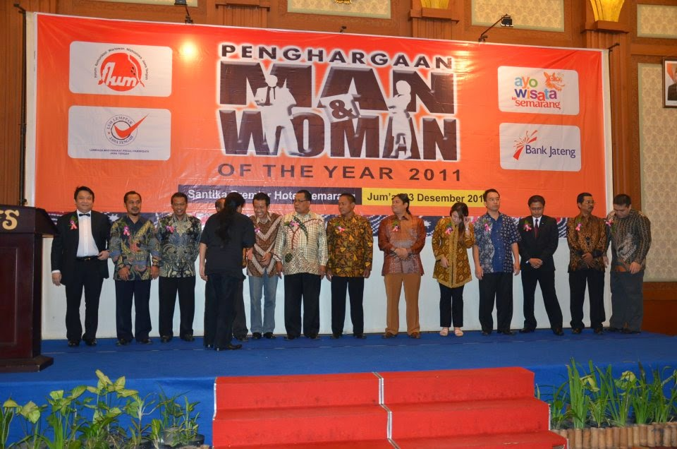Penghargaan Man and Woman Of The Year 2011