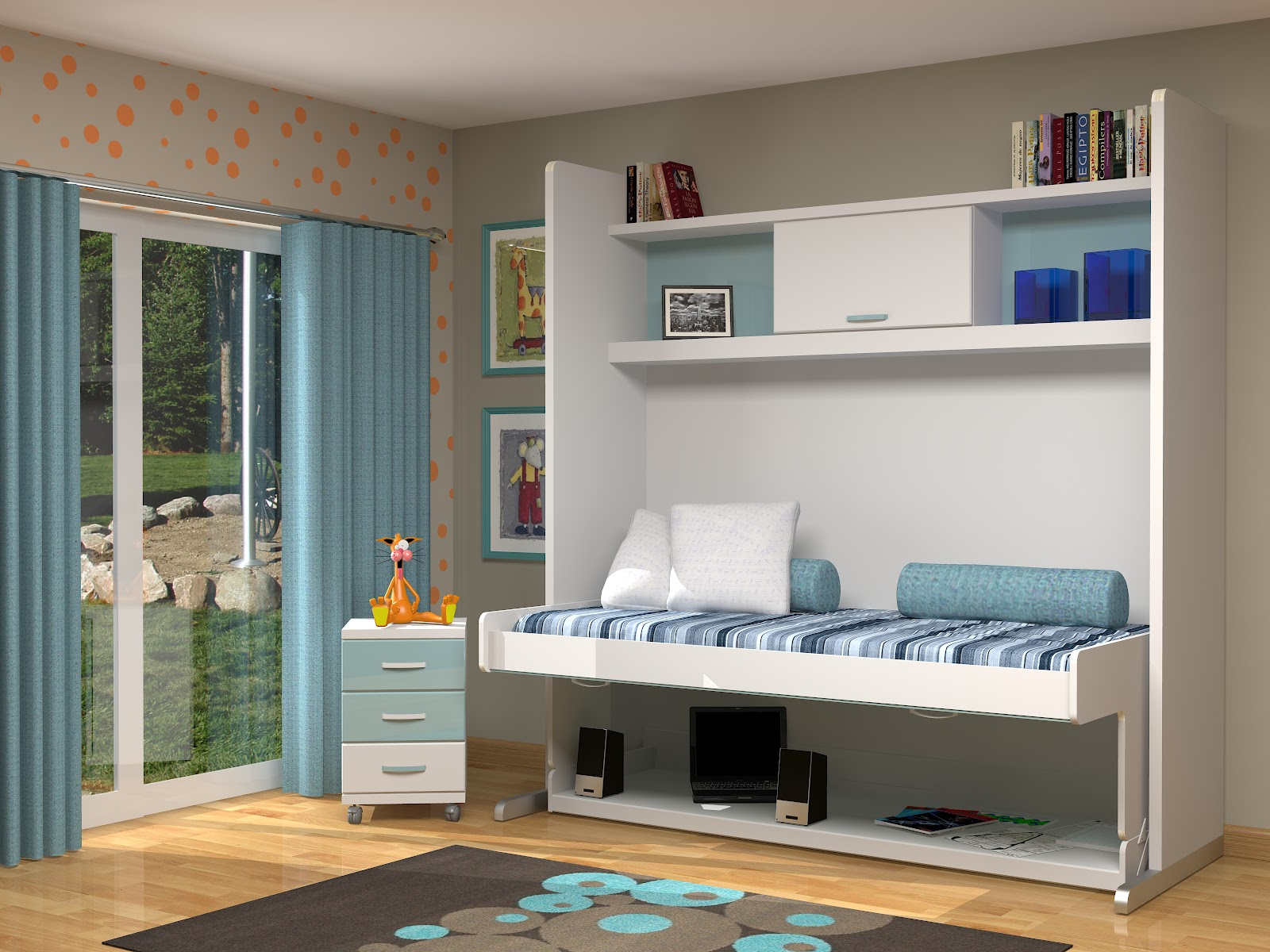 Camas abatibles en madrid camas abatibles toledo muebles parchis habitaciones para j venes - Mueble cama ikea ...