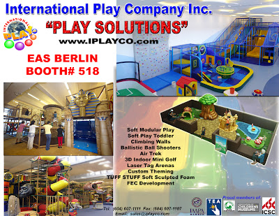 IAAPA, Iplayco, Indoor Play, Soft Toddler Play, Funworld, 2012, ,PPA, play structures, design, manufacture, install
