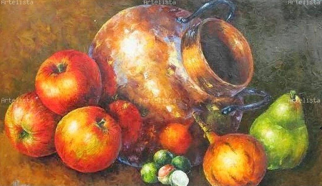 Im genes arte pinturas pinturas bodegones con espatula - Pinturas bodegones modernos ...