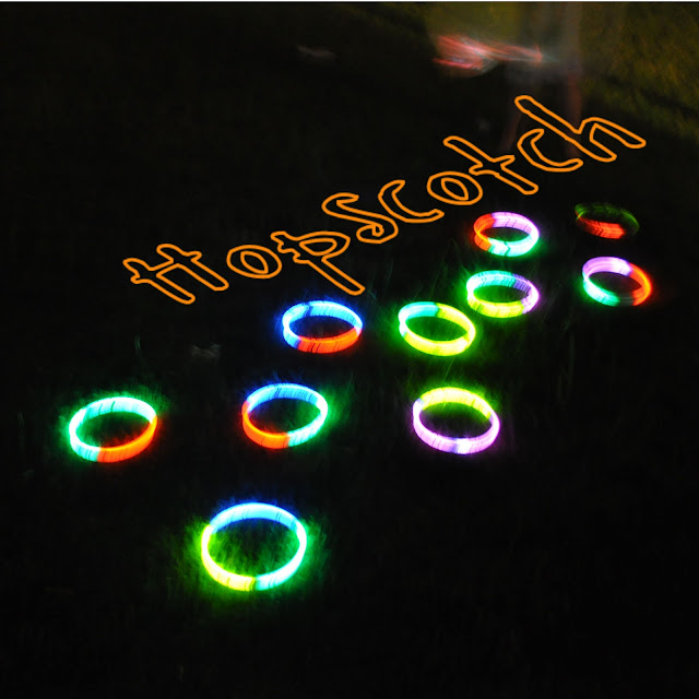 Glow in the Dark Party {hop scotch}