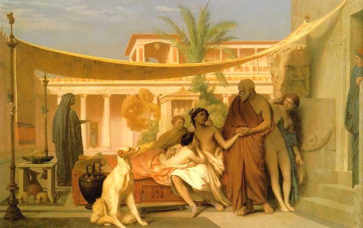 Baños Antiguos Grecia:Jean-Leon Gerome