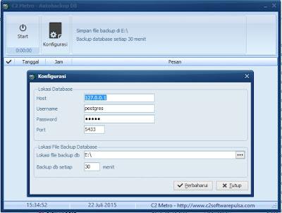 autobackup database