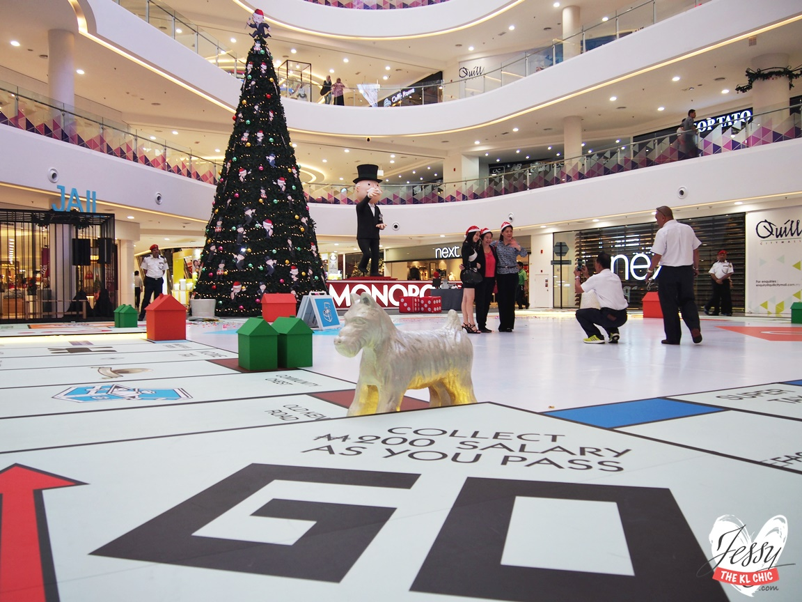 Place: Monopoly Christmas (Quill City Mall, KL)