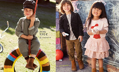 COLECCION INFANTIL H&M ALL FOR CHILDREN ALIANZA H&M UNICEF