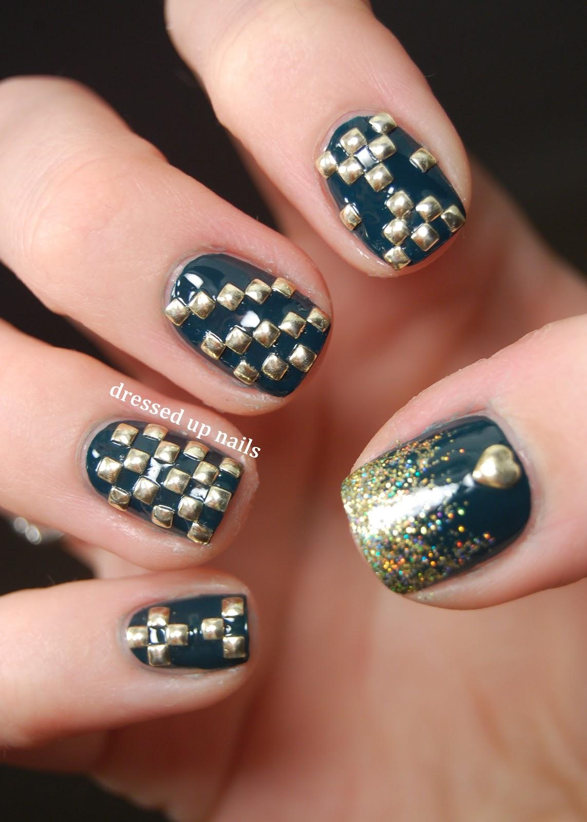 27 superb Studs Nail Art – ledufa.com