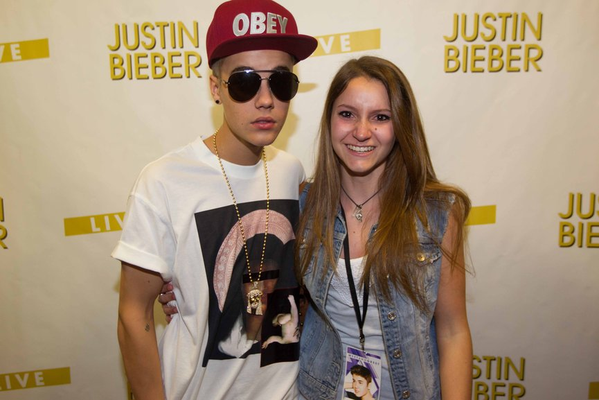 justin bieber meet and greet bologna barb