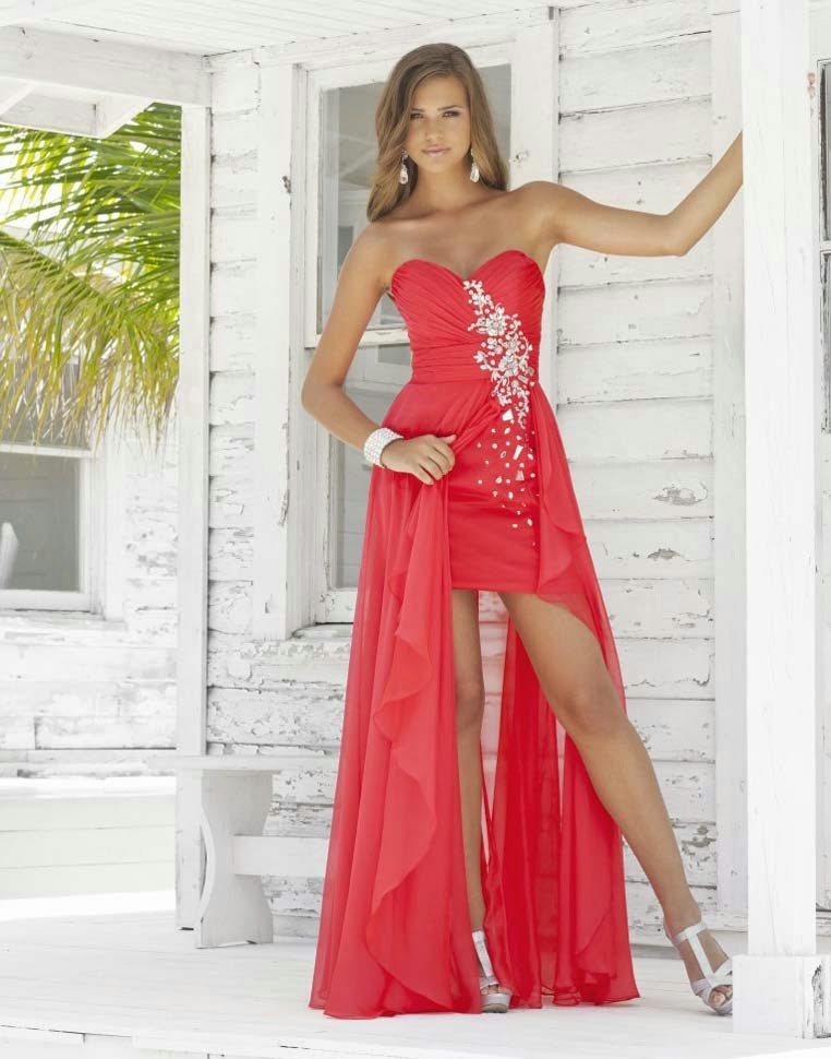 Casual Bling Wedding Dresses Red Color Design pictures hd