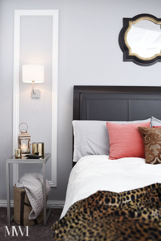 Beautiful A beautiful fun and chic guest room makeover inspired by boutique hotels The entire