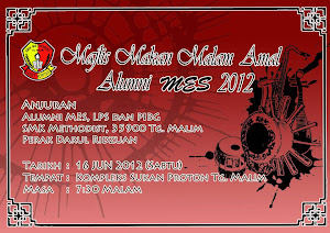 Makan Malam Alumni MES 2012