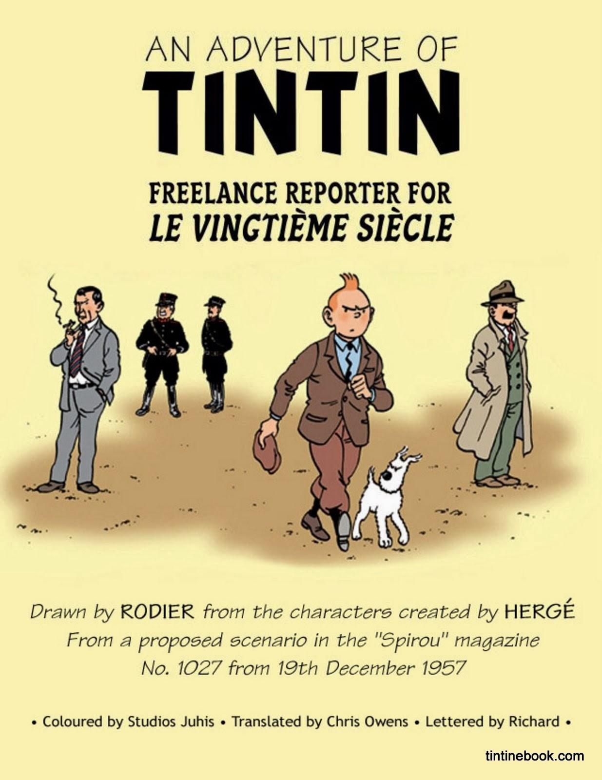 27. tintin the freelance reporter - tintin ebook