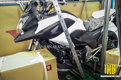 honda nc750x jadi motor polisi indonesia
