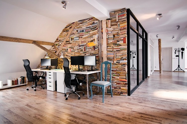 Office interior design is a unique home interior ideas for Unique office interior design