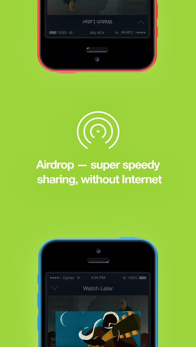 vimeo airdrop özelliğine sahip ios uygulamasını güncelledi